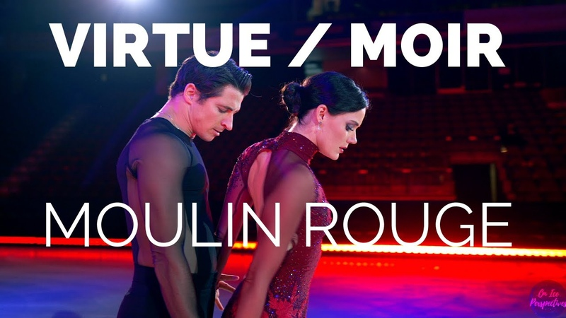 Tessa Virtue and Scott Moirs Moulin Rouge at The Thank You Canada Tour | On Ice Perspectives (4K)