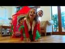 Папа Кати - смешной олень / Скрытая камера снимает Катю и Макса как они играют/ Наряжаем дом