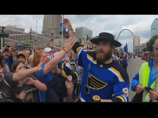 Sights and sounds from Saturdays Blues parade and rally