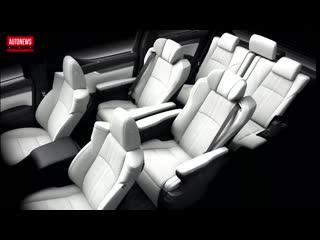 Новый Lexus LM - самый роскошный минивэн в мире