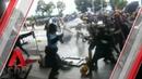 Hong Kong protesters clamber over barricades into legislative council building