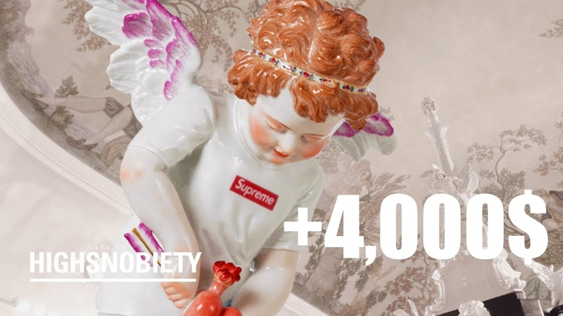 Supreme x Meissen's Купидон за 4,000$. Вот почему это стоило каждого цента