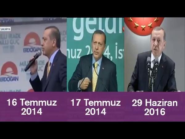 İşte 3 Farklı Erdoğan Konuşması - Mavi Marmara - İHH