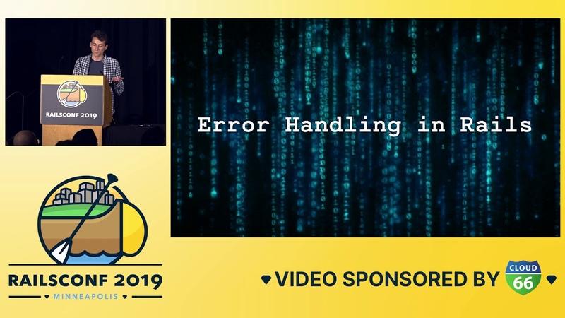 RailsConf 2019 - Resolve Errors Straight from the Error Pages by Genadi Samokovarov