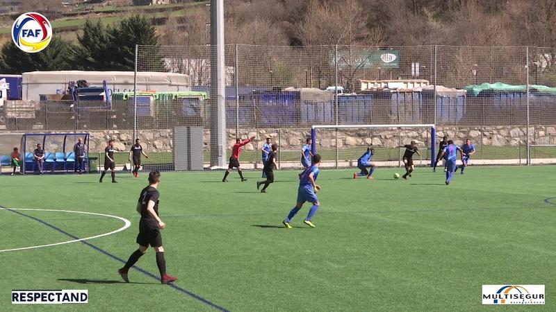 RESUM: Lliga Multisegur Assegurances, J19. FC Ordino - FC Encamp (4-0)