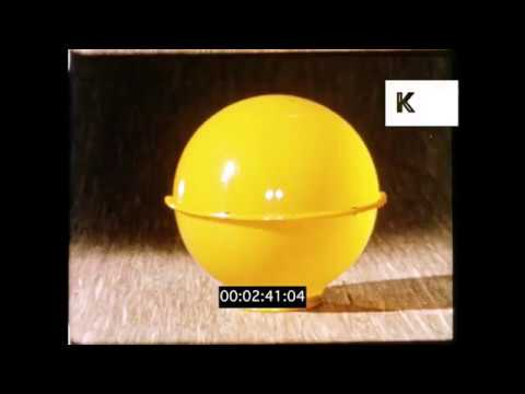 1950s, 1960s Plastic Household Items, HD from 16mm