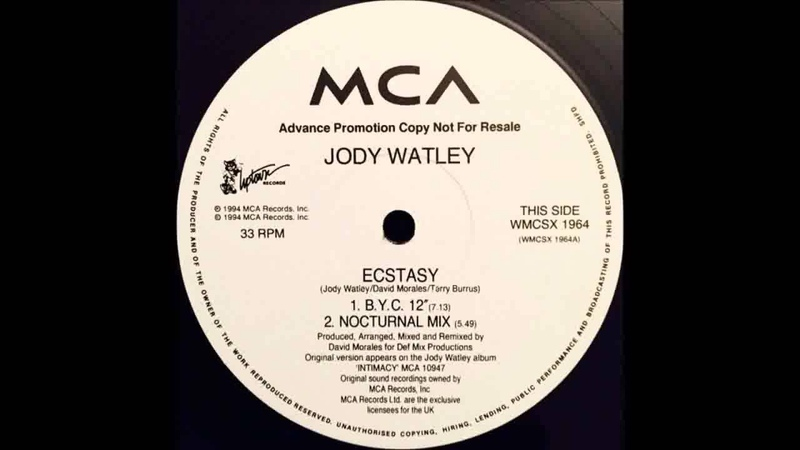 (1994) Jody Watley - Ecstasy [David Morales Bad Yard Club 12'' RMX]