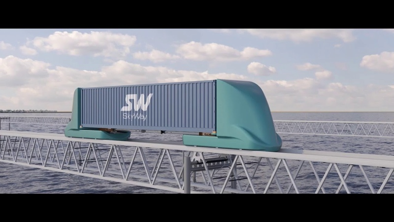SkyWay cargo complexes presentation