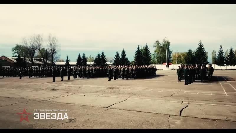 В различной боевой обстановке и погодных условиях_ кадры подготовки курсантов