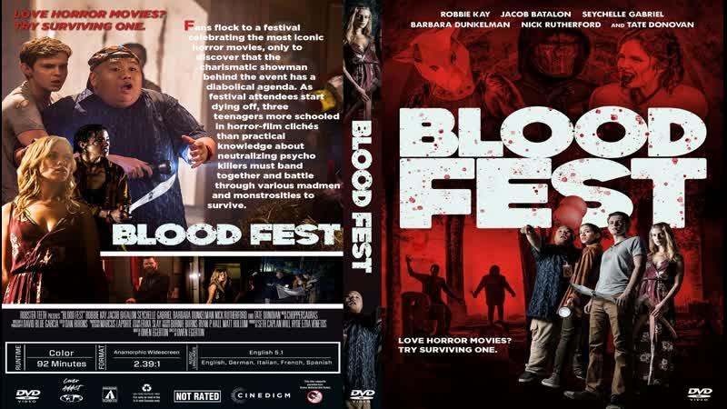 Кровавый Фестиваль Blood Fest (2018) HD 720p. Перевод и Озвучка ДиоНиК