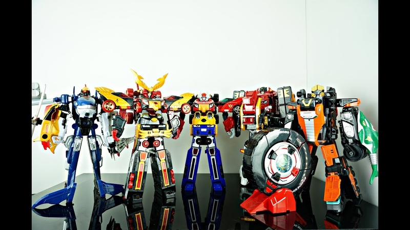DX Power Rangers RPM - Engine Sentai Go Onger 炎神戦隊ゴーオンジャー