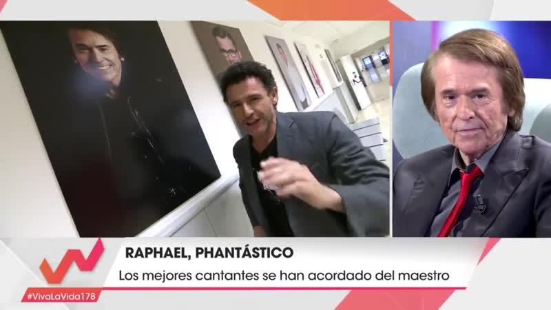 RAPHAEL en el programa Viva la Vida.16.03.2019.