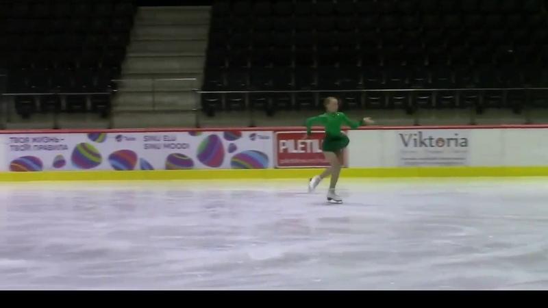 Eva-Lotta KIIBUS - Tallinn Trophy 2016 Short Program