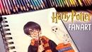 HARRY POTTER FANART | Copics and Colour Pencils | Jenna Drawing