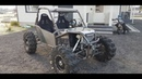 Custom built RZR type 1000cc 4x4 DIY buggy project, 4wheelsteering, 2seater part1