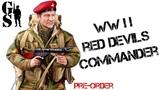 Британский десантник Вторая Мировая British airbourne Red Devil commander WW2 фигурка в масштабе 1