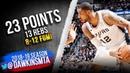 LaMarcus Aldridge Full Highlights 2019.03.18 Spurs vs Warriors - 23 Pts, 13 Rebs! | FreeDawkins