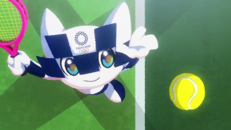東京2020オリンピックマスコット ミライトワ競技アニメーション