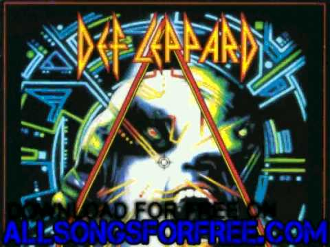 Def leppard - Armageddon It - Hysteria