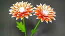Craft with Paper: How to Beautiful Stick Flower Making Step by Step | Jarine's Crafty Creation