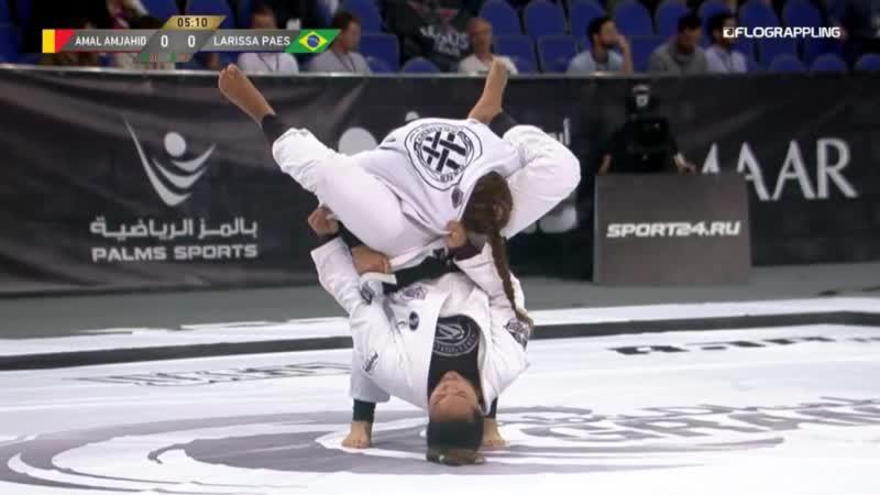 Amal Amjahid vs Larissa Paes 2019 Abu Dhabi Grand Slam Moscow