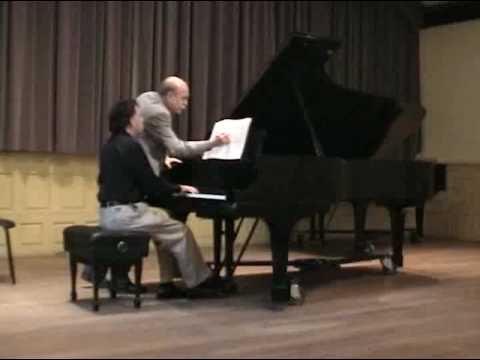 Brahms Intermezzo Master class with Victor Rosenbaum Part 3