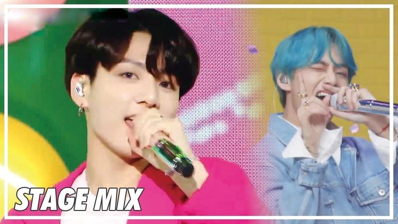 방탄소년단 (BTS) - 작은 것들을 위한 시 (Boy With Luv) 교차편집 (Stage Mix) @Show Music Core