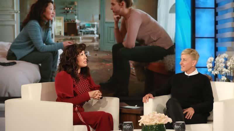 Sandra Oh Praises Killing Eve Co-Star Jodie Comer