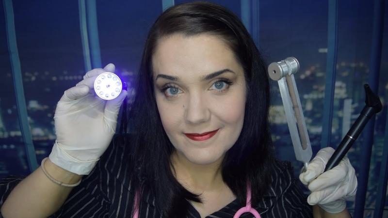 ASMR Extensive Medical Exam - Crinkles, Gloves, Lights