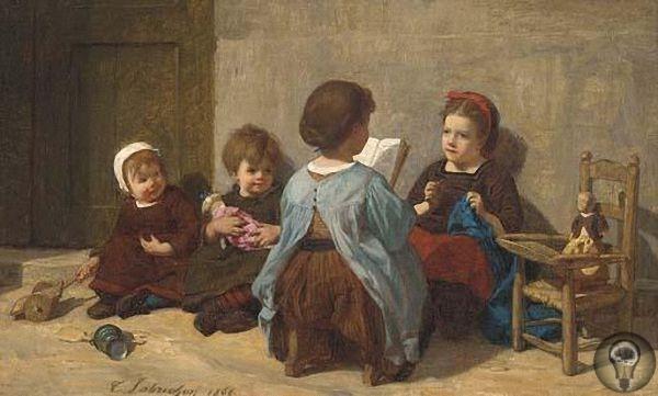 Детские образы Тимолеона Мари Лобришона.