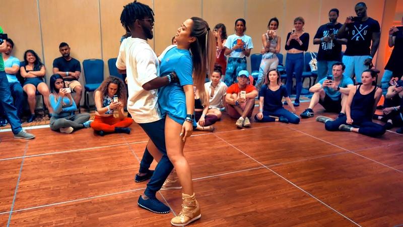 Amazing! Brazilian Zouk Dance by Walter Fernandes Hannah Miller-Jones at the DC Zouk Festival 2019