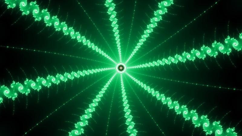 [Deep House] (Фрактал) The Edge of Infinity - Mandelbrot Fractal Zoom (e2011) (4k 60fps)