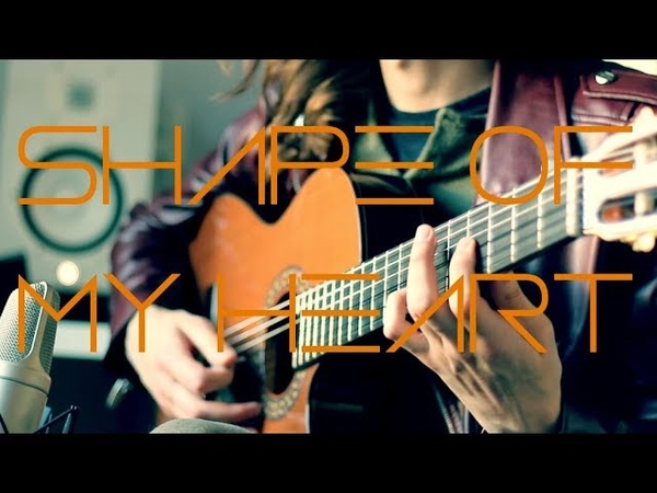 Sting - Shape of my Heart Instrumental Guitar cover by Robert Uludag/Commander Fordo