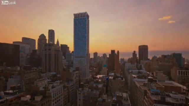 Манхэттен в движении HD