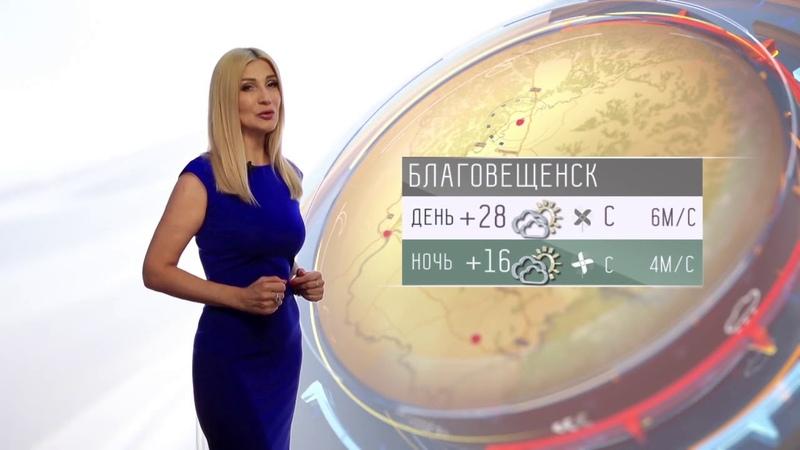 Прогноз погоды в Амурской области на 25 06 2019