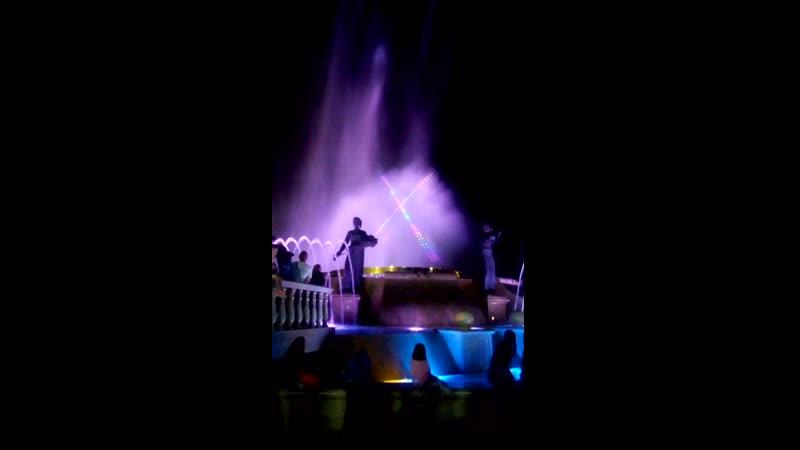музыкальные фонтаны Ставрополя
