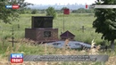 Мемориал в прифронтовом поселке, восстановленный бойцами батальона Восток