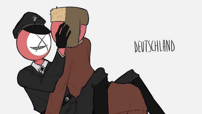 Deutschland countryhumans animatic ussr x third reich
