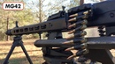Shooting an MG42 at regular speed AND 240 frames per second!