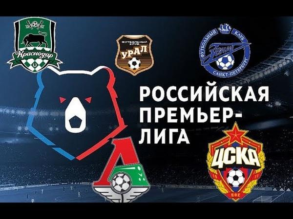 Кто станет Чемпионом России ? Кто победит в РФПЛ ?