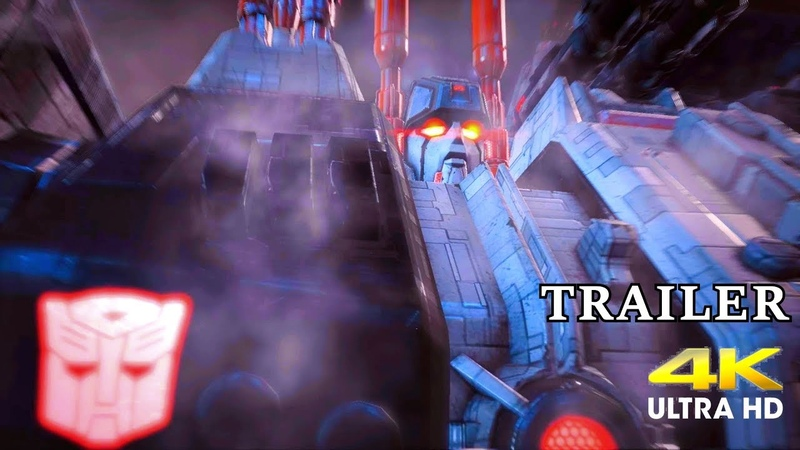 Transformers Fall of Cybertron Remastered - Teaser Trailer 4K (FAN MADE)