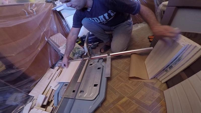 Сухая резка керамической плитки