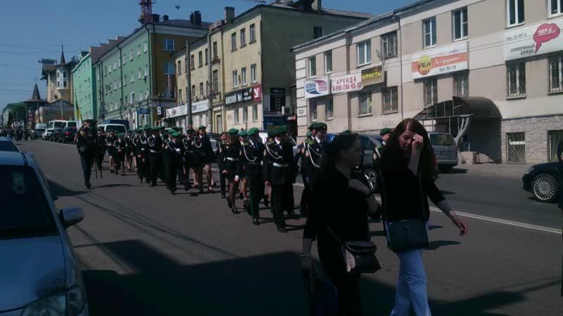 День пограничника в Курске.