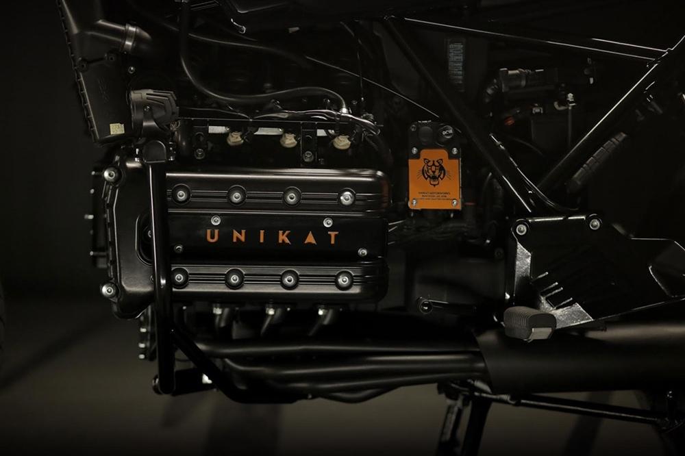 Unikat Motorworks: кафе рейсер BMW R1100LT Dynamite