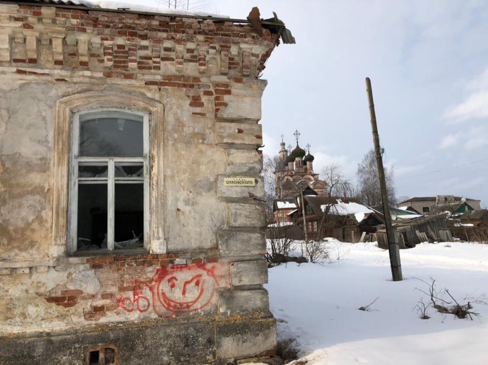 Московских телевизионщиков поразила разруха в Осташкове