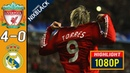 Liverpool : Real madrid 2009 Champions League Round of 16 All goals Highlights FHD/1080P