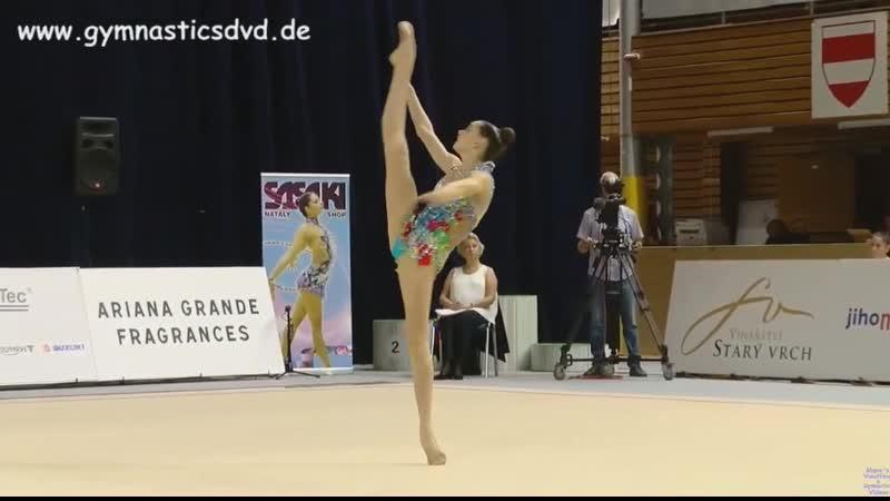 Дарья Трубникова - булавы (финал) Гран-при 2019, Брно