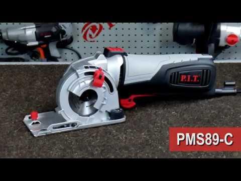 Обзорный ролик циркулярной мини-пилы PMS89-C