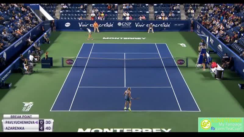Higlights Azarenka vs Pavlyuchenkova Monterrey