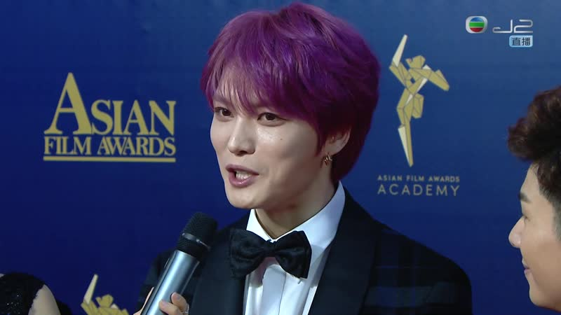 20190317 TVB J2 The 13th Asian Film Awards Red Carpet Kim Jaejoong 金在中 김재중 ジェジュン_Full-HD